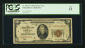 Small Size:Federal Reserve Bank Notes, Fr. 1870-J* $20 1929 Federal Reserve Bank Note. PCGS Fine 15.. ...