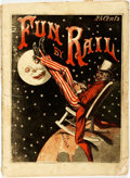 Books:Periodicals, [Cartoons]. Comic Periodical Entitled, Fun by Rail. [N.p., n.d., circa 1868]. ...