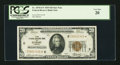 Small Size:Federal Reserve Bank Notes, Fr. 1870-E* $20 1929 Federal Reserve Bank Note. PCGS Very Fine 20.. ...