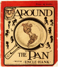 "Books:Art & Architecture, [Cartoons]. Thomas Fleming. Around the ""Pan"" with Uncle Hank. Being a Burlesque Trip Through the Pan American Exposition..."