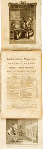 Books:Periodicals, [Periodical]. [Isaiah Thomas]. The Massachusetts Magazine: orMonthly Museum of Knowledge and Rational Entertainment. ...