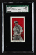 "Baseball Cards:Singles (Pre-1930), 1910 E98 ""Set of 30"" Frank Chance - Red (Black Swamp Find) SGC 92NM/MT+ 8.5...."