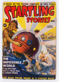 Pulps:Science Fiction, Startling Stories - March '39 (Standard, 1939) Condition: VG....