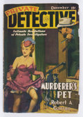 Pulps:Detective, Private Detective Stories V8#1 (Trojan Publishing, 1940) Condition:VG+....
