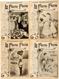 Books:Periodicals, [Illustrated Periodicals]. [Cartoons]. Four Issues of LeFrou-Frou. 1903.... (Total: 2 Items)