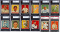Baseball Cards:Lots, 1933 Goudey Baseball Graded Collection (145) - Over 40 Stars/HoFers and Gehrig. ...
