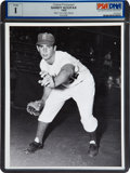 Baseball Collectibles:Photos, 1955 Sandy Koufax Rookie Original News Photograph, PSA/DNA Type1....