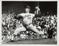 Baseball Collectibles:Photos, 1963 Sandy Koufax Sets World Series Record Original NewsPhotograph, PSA/DNA Type 1....