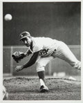 Baseball Collectibles:Photos, 1965 Sandy Koufax World Series Original News Photograph, PSA/DNAType 1....