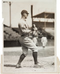 Baseball Collectibles:Photos, 1924 Lou Gehrig Original News Photograph, PSA/DNA Type 1....