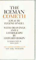 Books:Literature 1900-up, [Leonard Baskin, illustrator]. SIGNED/LIMITED. Eugene O'Neill.The Iceman Cometh. New York: Limited Editions Club, 1...