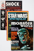 Magazines:Horror, Miscellaneous Horror Magazines Group (Various Publishers,1960s-70s) Condition: Average VG.... (Total: 34 Comic Books)