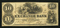 Obsoletes By State:Tennessee, Murfreesboro, TN- Exchange Bank $10 July 1, 1856. ...