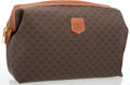 "Luxury Accessories:Accessories, Celine Brown Monogram Toiletry Travel Bag. Good to Very GoodCondition. 11"" Width x 8.5"" Height x 3"" Depth. ..."