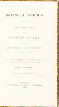 Books:Natural History Books & Prints, [Author Unknown]. Botanical Sketches of the Twenty-Four Classes in the Linnaean System...London: J. Hatchard, 1825. ...