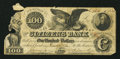 Obsoletes By State:Tennessee, Knoxville, TN- Citizens National Bank of Memphis $100 Nov. 1, 1853. ...