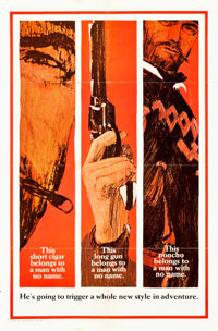 "A Fistful of Dollars (United Artists, 1967). One Sheet (27"" X 41"") Teaser Style B"