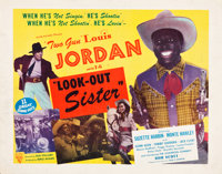 """Look-Out Sister (Astor, 1947). Half Sheet (22"""" X 28"""")"""