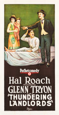 """Movie Posters:Comedy, Thundering Landlords (Pathe Exchange, 1925). Three Sheet (41"""" X81"""").. ..."""