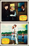 """Movie Posters:Film Noir, The Lady from Shanghai (Columbia, 1947). Lobby Cards (2) (11"""" X 14"""").. ... (Total: 2 Items)"""