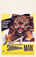"""Movie Posters:Science Fiction, The Incredible Shrinking Man (Universal International, 1957).Window Card (14"""" X 22"""").. ..."""