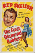 "Movie Posters:Comedy, The Great Diamond Robbery & Other Lot (MGM, 1953). One Sheets (2) (27"" X 41""). Comedy.. ... (Total: 2 Items)"