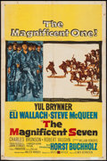 """The Magnificent Seven (United Artists, 1960). One Sheet (27"""" X 41""""). Western"""