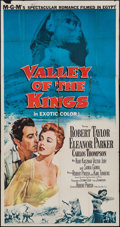 "Movie Posters:Adventure, Valley of the Kings (MGM, 1954). Three Sheet (41"" X 78"").Adventure.. ..."