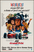 "Movie Posters:Sports, Grand Prix (MGM, 1967). One Sheet (27"" X 41"") Cinerama Style B. Sports.. ..."