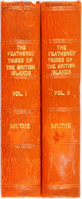Books:Natural History Books & Prints, Robert Mudie. The Feathered Tribes of the British Islands. London: Henry G. Bohn, 1853. Two volumes. Bohn's illustra... (Total: 2 Items)