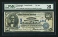 National Bank Notes:Pennsylvania, Pittsburgh, PA - $50 1902 Date Back Fr. 673 Western NB Ch. # (E)4918. ...