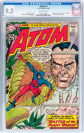 Silver Age (1956-1969):Superhero, The Atom #1 (DC, 1962) CGC NM- 9.2 Off-white pages....