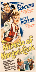 """Movie Posters:Comedy, The Miracle of Morgan's Creek (Paramount, 1944). Three Sheet (40.5"""" X 79.5""""). Comedy.. ..."""