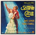"Movie Posters:Romance, 7th Heaven (Fox, 1929). Italian (77"" X 80.25"").. ..."