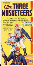"Movie Posters:Serial, The Three Musketeers (Mascot, 1933). Three Sheet (41"" X 81"").. ..."
