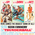 "Movie Posters:James Bond, Thunderball (United Artists, 1965). Six Sheet (84"" X 82.5"").. ..."