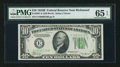 Small Size:Federal Reserve Notes, Fr. 2007-E $10 1934B Federal Reserve Note. PMG Gem Uncirculated 65 EPQ.. ...