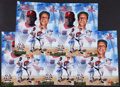Baseball Collectibles:Photos, Ryan Howard and Stan Musial Dual Signed Oversized Photographs Lot of 5. ...