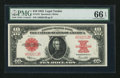 Large Size:Legal Tender Notes, Fr. 123 $10 1923 Legal Tender PMG Gem Uncirculated 66 EPQ.. ...