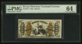 Fractional Currency:Third Issue, Fr. 1370 50¢ Third Issue Justice PMG Choice Uncirculated 64.. ...