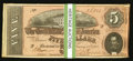 Confederate Notes:1864 Issues, T69 $5 1864 PF-10 Cr. 564 Fifty-two Examples.. ... (Total: 52 notes)