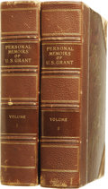 Books:Non-fiction, Ulysses S. Grant: Personal Memoirs of U. S. Grant (2 Vol.Set), Signed and Inscribed by Julia D. Grant. ...