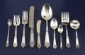 Silver & Vertu:Flatware, An American Silver Flatware Service. Gorham Manufacturing Co., Providence, Rhode Island. Circa 1917. Silver and stainless ... (Total: 84 Items)