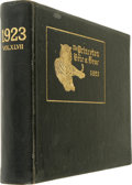 Baseball Collectibles:Others, 1923 Moe Berg Princeton University Yearbook. 1923 edition ofPrinceton University's yearbook, the Bric-a-Brac, is offe...