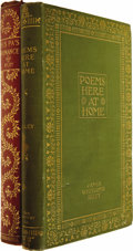 Books:First Editions, James Whitcomb Riley Inscribed First Editions.... (Total: 2 Items)
