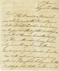 "Autographs:Non-American, William IV, King of England Letter Signed ""William R"". ..."