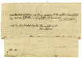 "Autographs:U.S. Presidents, John Adams and Robert Treat Paine: Document Signed by Both ""R Paine"" and ""John Adams"". Two leaves, four pages, first..."