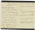 "Autographs:U.S. Presidents, First Lady Edith Wilson Autograph Letter Signed, ""Edith BollingWilson"", two pages, 4.25"" x 6.25"", Washington, D.C., Fe...(Total: 1 Item)"