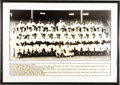 Baseball Collectibles:Photos, 1950 New York Yankees Large Team Photograph. While we are unable toattest definitively, the size and composition of this e...