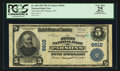 National Bank Notes:West Virginia, Parsons, WV - $5 1902 Plain Back Fr. 600 The First NB Ch. # 9610....